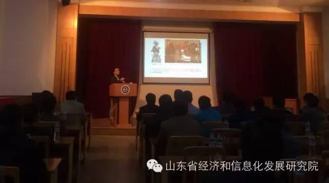 济南大学杨海波教授应邀来省科学院做工业设计报告